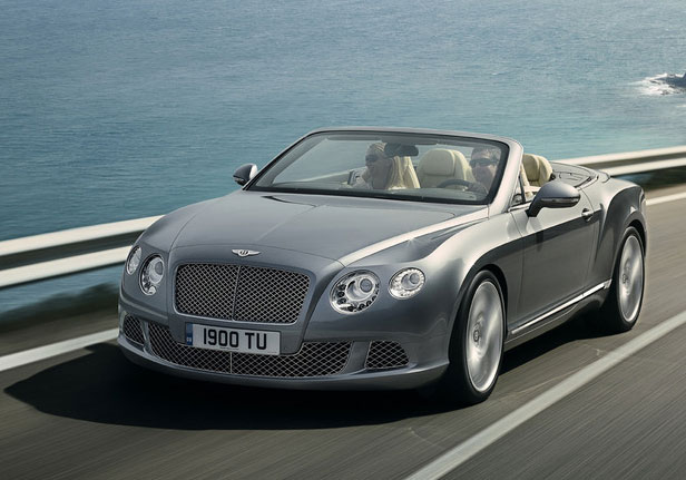 Кабриолет от Bentley - Continental GTC