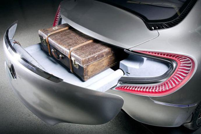 Mercedes-Benz F 125 - багажник