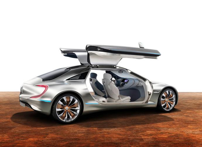Mercedes-Benz F 125 - автомобиль будущего