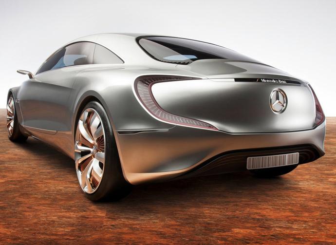 Mercedes-Benz F 125 - вид сзади
