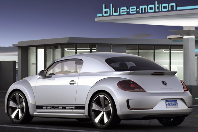 E-Bugster - электромобиль от Volkswagen
