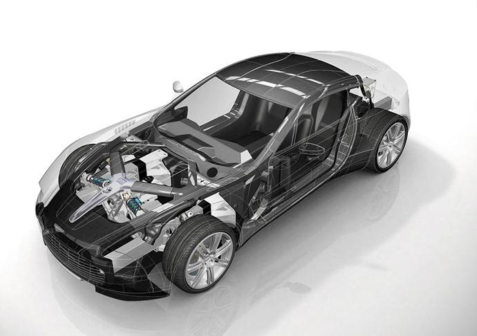 Суперкар Aston Martin One-77