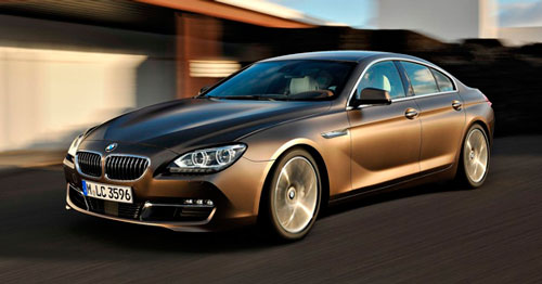 BMW 6-Series Gran Coupe 2013 года