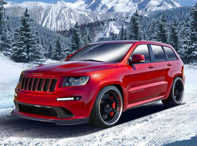 Hennessey Performance Jeep Grand Cherokee SRT8