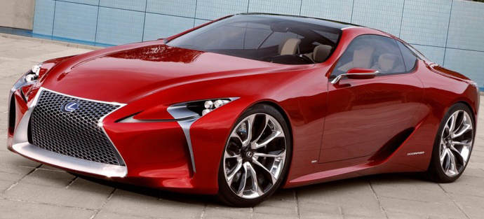 Спорткар Lexus - LF-LC