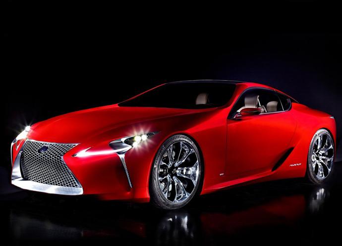 Новый спорткар от Lexus - LF-LC