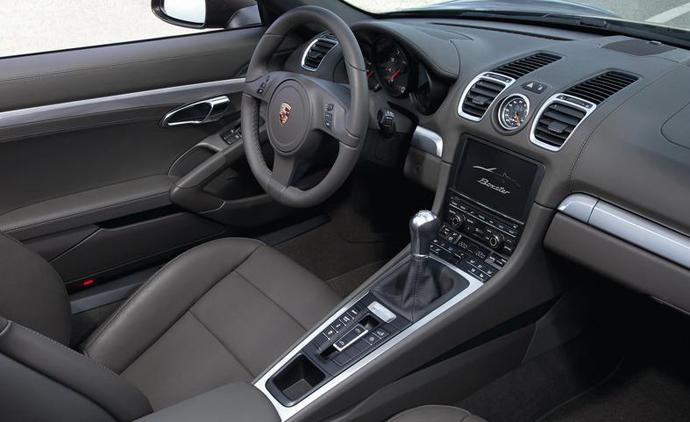 Porsche Boxster и Boxster S салон