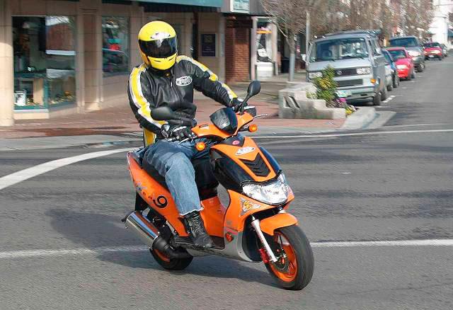 Водительское удостоверение (права) на скутер и мопед