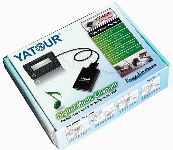 Эмулятор CD чейнджера YATOUR
