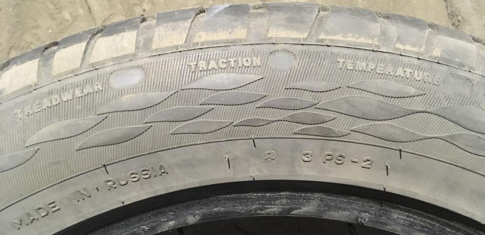 маркировка износоустойчивости шин